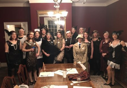 1920's theme muder mystery weekend